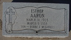 Esther <i>Schaffler</i> Aaron