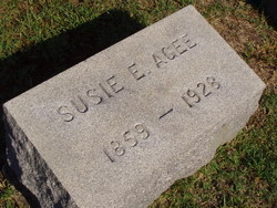 Susie E. <i>Fore</i> Agee