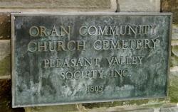 Oran Community Church Cemetery