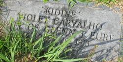 Violet Kiddie <i>Carvalho</i> Eure