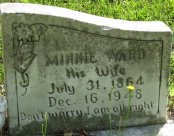Minnie <i>Ward</i> Jones