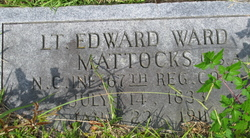 Lieut Edward Ward Mattocks