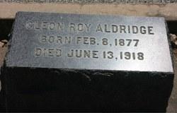 Cleon Roy Aldridge