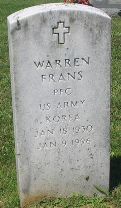 Warren Buster Frans