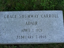Grace Shumway <i>Carroll</i> Adair