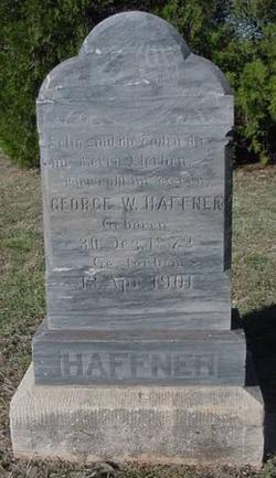 George Wesley Haffner