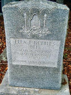 Ella Frances <i>Nettles</i> Bee