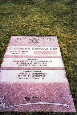 C. Lorene <i>Brooks</i> Lee