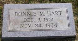 Bonnie M. <i>Snyder</i> Hart