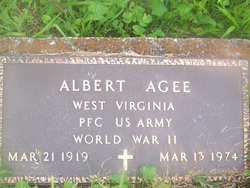 PFC Albert Woodrow Jack Agee