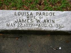 Louisa <i>Pardoe</i> Akin