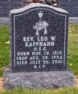 Rev Leo W. Kapphahn