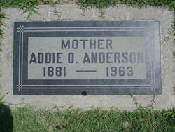 Addie O. Anderson
