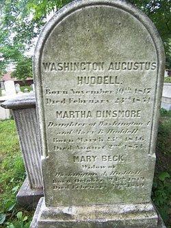 Mary <i>Beck</i> Huddell