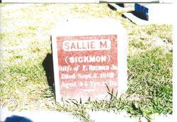 Sallie M. <i>Sickmon</i> Regnier