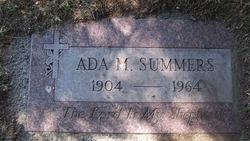Ada M Summers