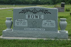 Elsie <i>McPhail</i> Rowe