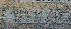 Goldie Mae <i>Silver</i> Barnett