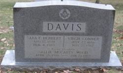 Sara E <i>Herbert</i> Davis