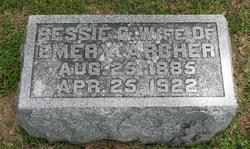 Bessie G. <i>Reynolds</i> Archer