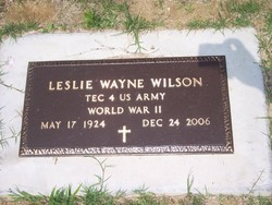 Leslie W Wilson