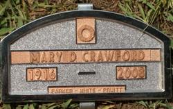 Mary Granny Crawford <i>Davenport</i> Crawford