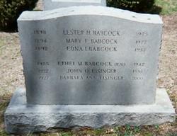 Mary Frances <i>Harrington</i> Babcock