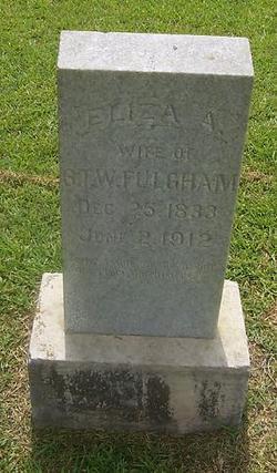 Elizabeth A. Frances Eliza <i>Byrd</i> Fulgham