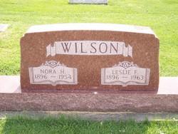 Nora S <i>Hendren</i> Wilson