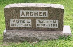 Walter M Archer