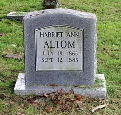 Harriet Ann <i>Houston</i> Altom