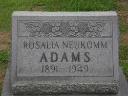 Rosalia Neukomm Adams