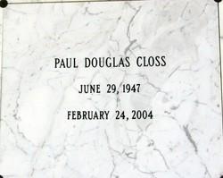 Paul Douglas Closs