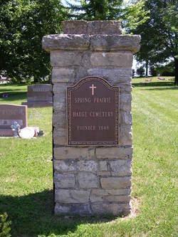 Spring Prairie - Hauge Cemetery