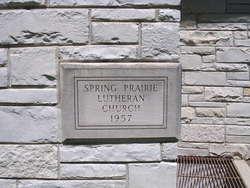 Spring Prairie Lutheran Cemetery