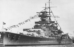 Memorial of the Battleship Scharnhorst