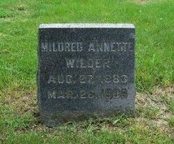 Mildred Annette <i>Wilder</i> Wilder