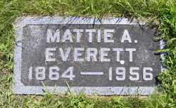 Mattie A. <i>Cheney</i> Everett