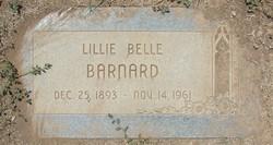 Lillie Belle <i>Riddle</i> Barnard
