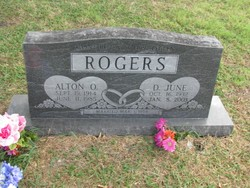 June Dorothy <i>Patterson</i> Rogers