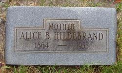 Alice Barbara <i>Banta</i> Hildebrand