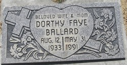 Dorthy Faye <i>Rhodes</i> Ballard