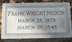 Frank Wright Noxon