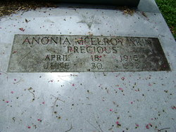 Anonia Precious <i>McElroy</i> Akin