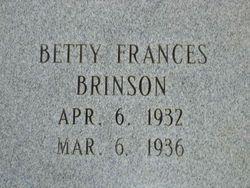 Betty Frances Brinson