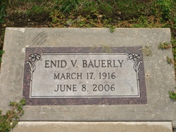 Enid Virginia <i>Howard</i> Bauerly