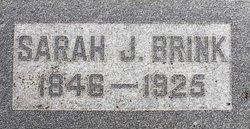 Sarah J Brink