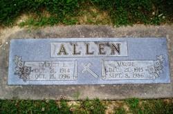 Maude <i>Eads</i> Allen