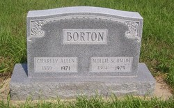 Mollie <i>Schmidt</i> Borton
