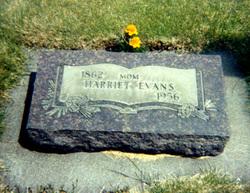Harriet <i>Williams</i> Evans